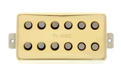 Magna'Tron Humbucker Mount Gold Neck Pickup