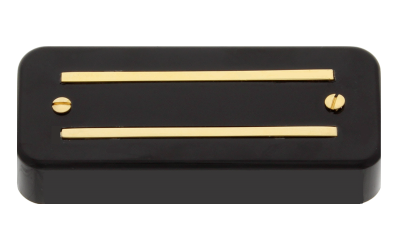 Thunder'Blade Neck - Soapbar Mount - Black - Gold