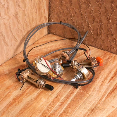 Tone switch guitar wiring harness