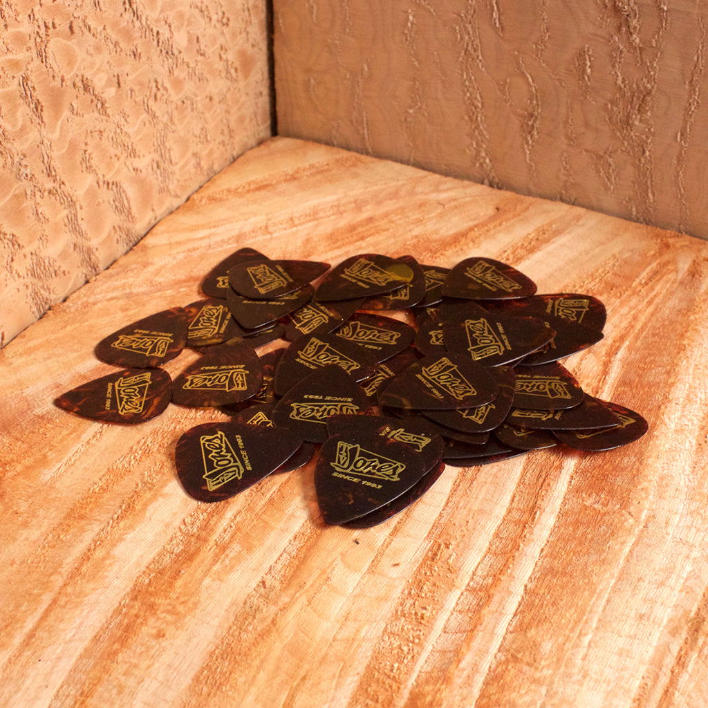 TV Jones Tortoise Shell Celluloid Picks