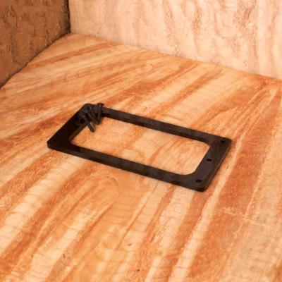 Fender-style Pickup Ring for Universal and English Mount Pickups - Black