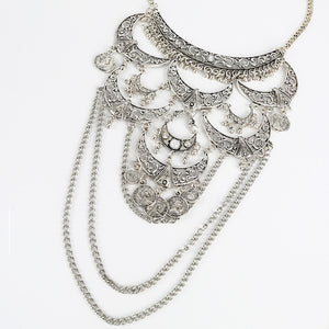 Vintage Collar Statement Necklace