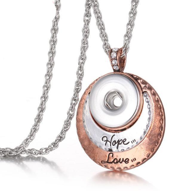 Love Hope Pendant Necklace