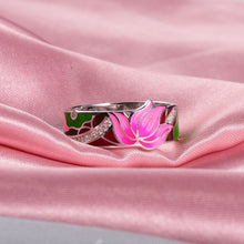Load image into Gallery viewer, Lotus Flower Ring