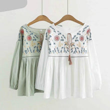 Load image into Gallery viewer, Autumn Spring Bohemian Blouse