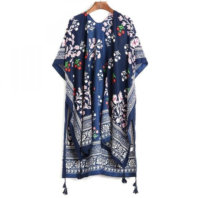 Loose Bohemian Summer Blouse
