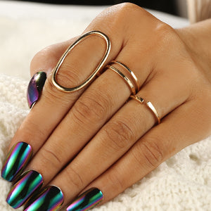 Round Oval Shape Ring