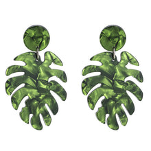 Load image into Gallery viewer, Leaf  Drop Dangle Earrings