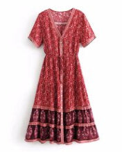 Load image into Gallery viewer, Hippie Bohemia Women Dress