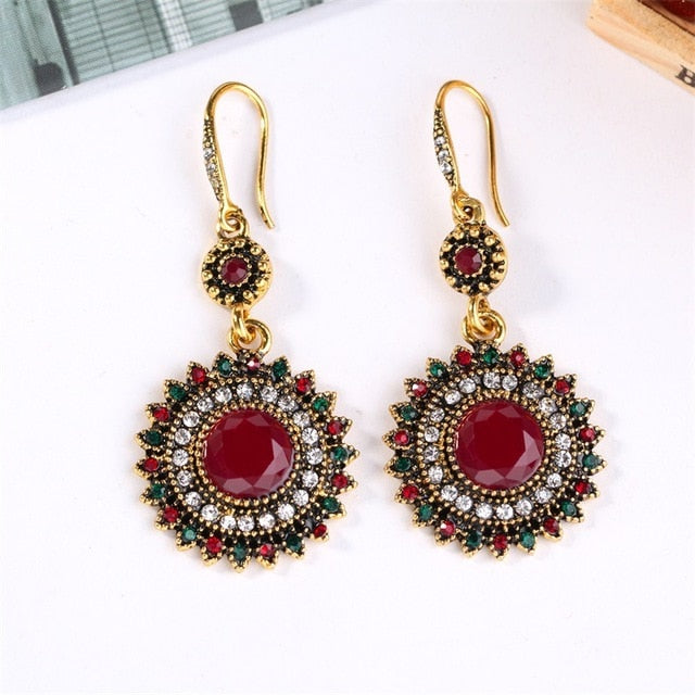 Antique Style Bohemian Earrings