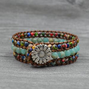 Unique Natural Stone Bracelet