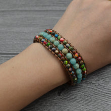 Load image into Gallery viewer, Unique Natural Stone Bracelet