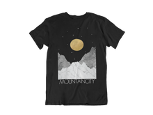Load image into Gallery viewer, Moon & Stars MOUNTAINCITY Logo T-Shirt