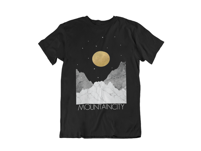 Moon & Stars MOUNTAINCITY Logo T-Shirt