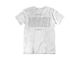 Hearts Collide Lyric T-Shirt
