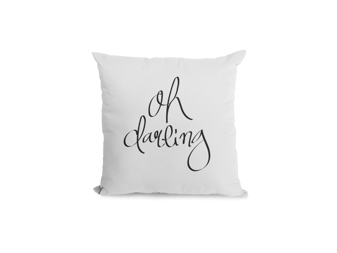 Oh Darling Pillow Cover