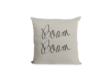 Load image into Gallery viewer, Boom Boom Pillow Cover