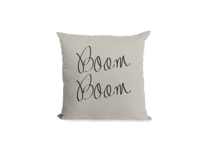 Boom Boom Pillow Cover
