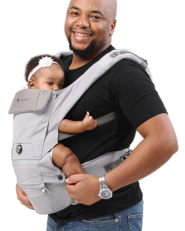 4936adeaf7f Hugpapa s Dial-Fit products help you adjust the carrier to the best fit for  both baby and caregiver with just a few turns of the dial.
