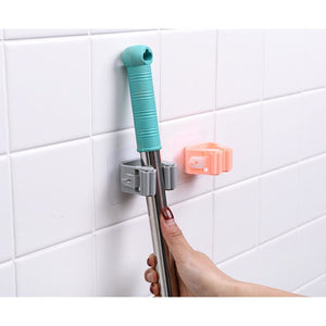 Self adhesive Brush & Broom Holder (up to 5 kg) - Free Shipping