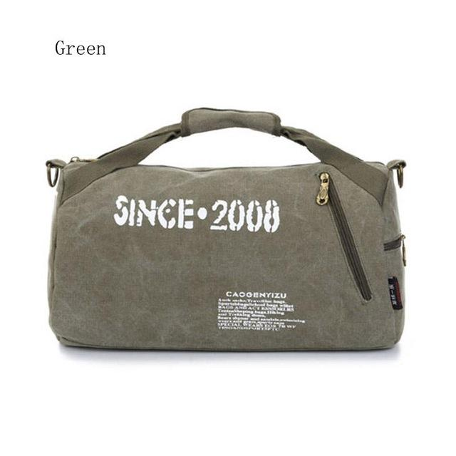 Canvas Sport Bag Training Gym