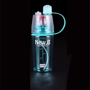 Spray Sports Water Bottle for Outdoor Sports Gym