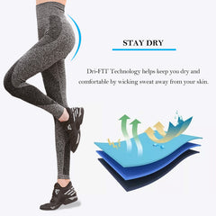 Womens Yoga Pants High Waist Leggings Gym Running Tights