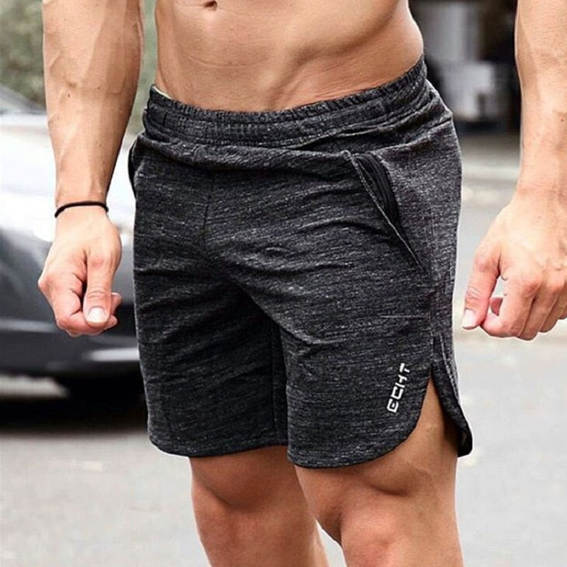 Summer Running Training Exercise Fitness Crossfit Gym Cotton  Shorts Men Shorts
