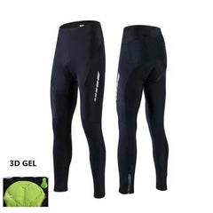 Men/women Padded Cycling Long Bicycle Bib Pants High-quality Gel Pad Bike Tights