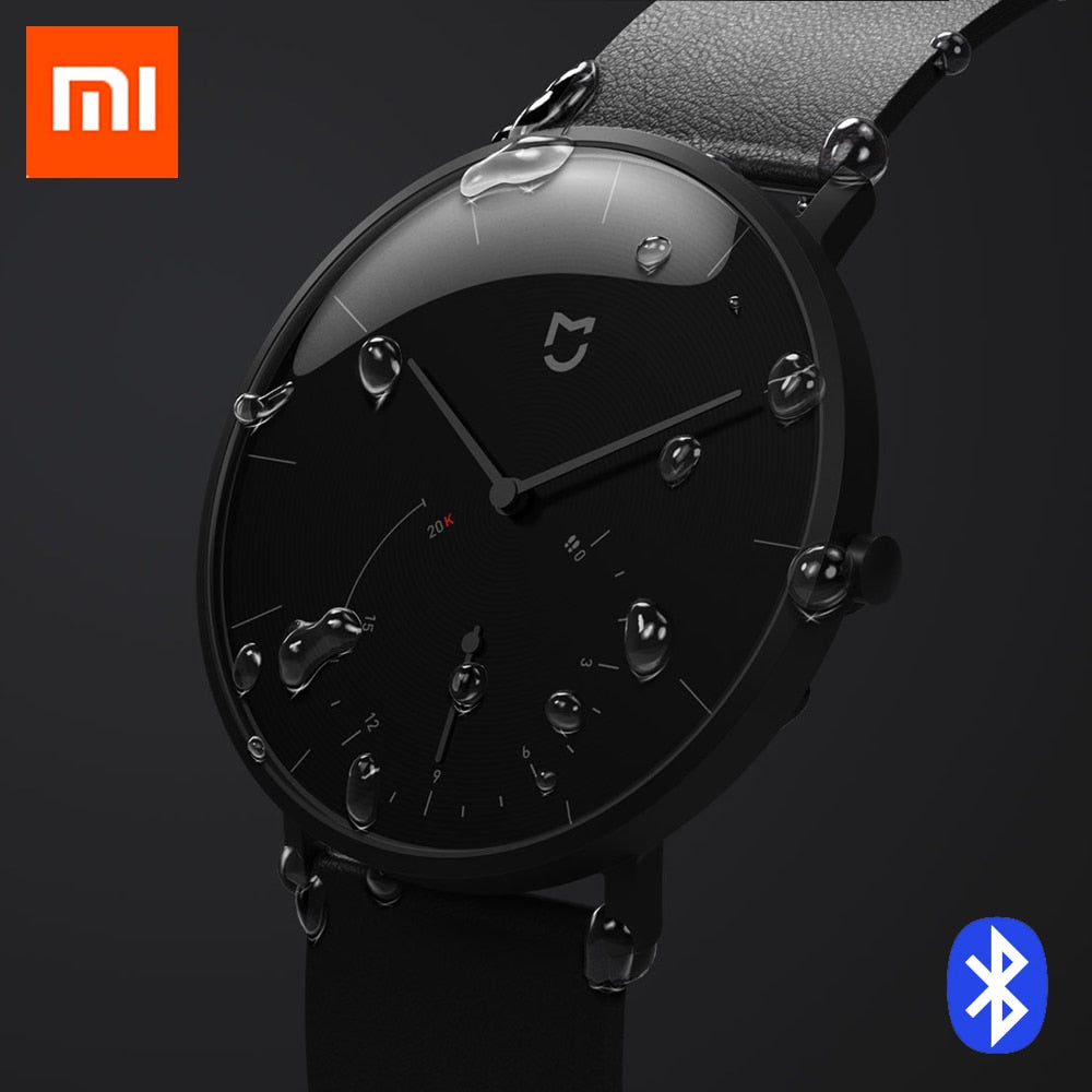 Xiaomi Mijia Smart Quartz Watch Pedometer Smartband Bluetooth 4.0 Mi Smartwatch Automatic Calibration