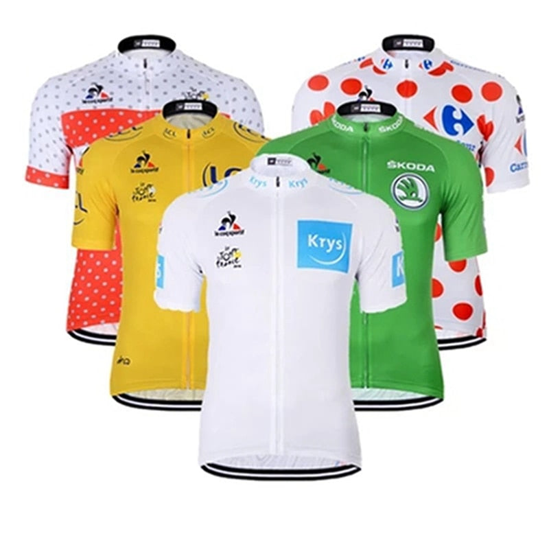Tour de France Cycling Jersey Mtb Anti-sweat Quick Dry Men Bicycle Clothing