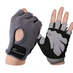 Anti-skid Half Finger Men & Women Gym Weightlifting Gloves