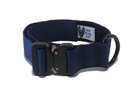 "1.5"" Cobra Buckle Collar"