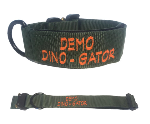 "1.5"" Informative Collar (multiple lines of text)"