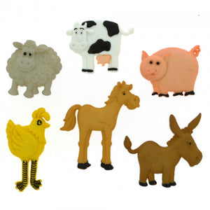 Dress It Up - Funny Farm Buttons