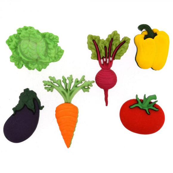 Dress It Up - Fresh Produce Buttons