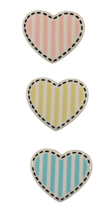 Buttons Galore  Heart Shape - Buttons