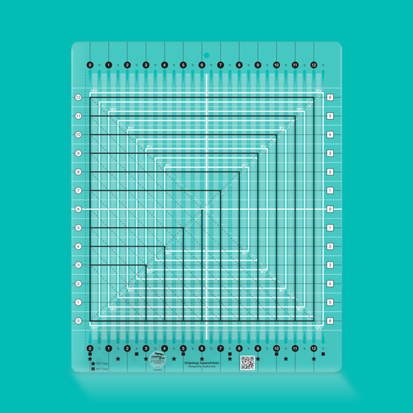 Creative Grids Ruler Stripology Squared CGRGE2