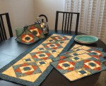 Cut Loose Pattern Bon Appetit Collection Table Runner and Placemats Pattern