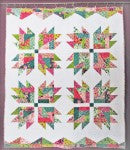Cut Loose Pattern Scrap Crazy Bear Paw Quilt Pattern