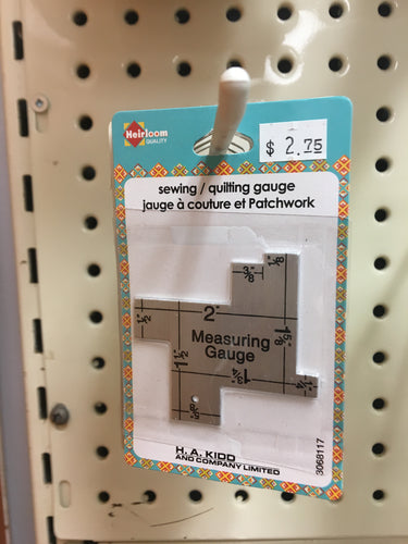 Sewing/quilting gauge