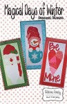 Magical Days of Winter Seasonal Skinnies Applique Pattern