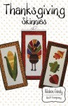 Seasonal Skinnies Thanksgiving Skinnies - Fusible Applique # RCQC522