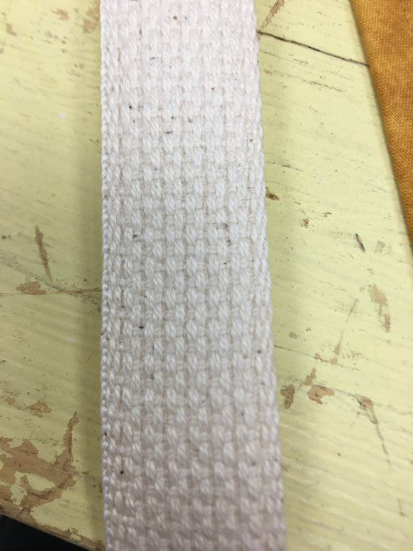 100% Cotton Webbing Cream