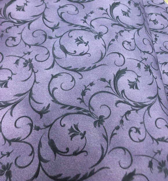 Beautiful Backings Purple Swirl