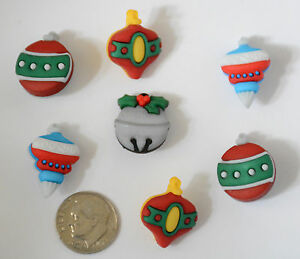 Buttons Galore - Tree Trimmer Christmas Ornament Buttons