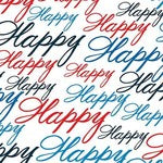 Happy Happy (Celebration fabric)