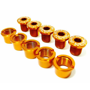 KCNC Chainring Bolts Set Road - Gold