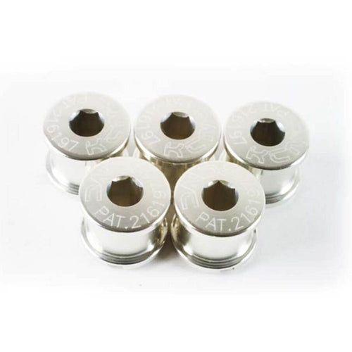 KCNC Chainring Bolts Set Road - Silver