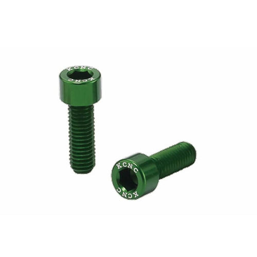 KCNC Alloy Bottle Cage Screws - Green